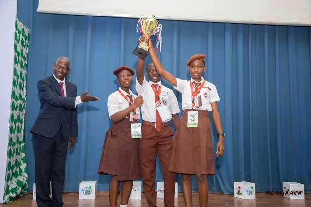 Award for Most Creative Business Startup Plan – Rev. Kuti memorial grammar school, Abeokuta Ogun state
