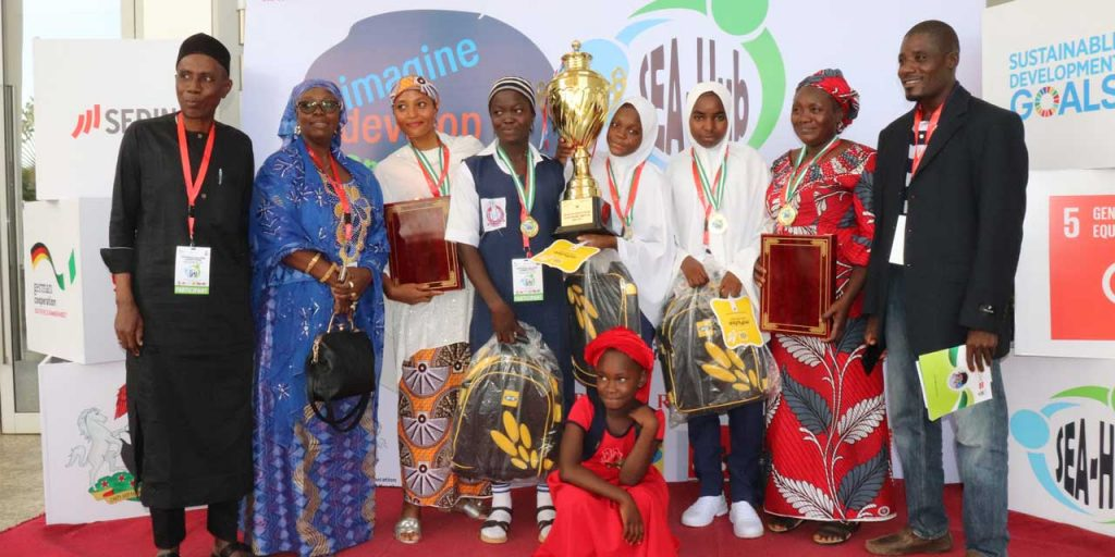 Winner of the SEA-Hub National Competition- Government Secondary Science College, Agaie